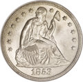 Seated Dollars, 1853 $1 MS63 NGC. CAC. ...