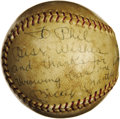 Baseball Collectibles:Balls, 1966 Mickey Mantle Career Home Run #485 Baseball. The included letter of provenance tells the story better than we could, s...