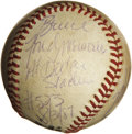 Baseball Collectibles:Balls, 1987 Mike Schmidt Career Home Run #523 Baseball. Magnificentprovenance and historical importance make this offering a very...