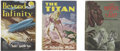 Books:First Editions, Three First Edition Novels Published by Fantasy Press,including:... (Total: 3 Items)