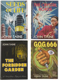 Books:First Editions, Four First Edition Fantasy Press Novels by John Taine,including:... (Total: 4 Items)