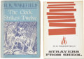 Books:First Editions, H. R. Wakefield. Two First Editions, including:... (Total: 2 Items)
