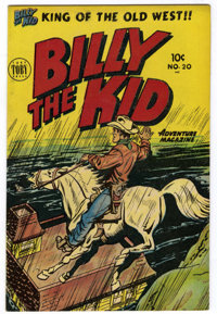 Billy the Kid Adventure Magazine #20 Canadian edition (Toby Publishing, 1954) Condition: VF+