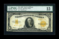 Large Size:Gold Certificates, Fr. 1173 $10 1922 Gold Certificate Star Note PMG Choice Fine 15....
