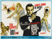 """From Russia with Love (United Artists, 1964). British Quad (30"""" X 40"""")"""