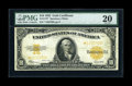 Large Size:Gold Certificates, Fr. 1173 $10 1922 Gold Certificate Star Note PMG Very Fine 20....