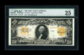 Large Size:Gold Certificates, Fr. 1187 $20 1922 Gold Certificate Star Note PMG Very Fine 25....