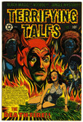 Golden Age (1938-1955):Horror, Terrifying Tales #13 (Star Publications, 1953) Condition: ApparentVF....