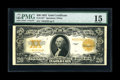 Large Size:Gold Certificates, Fr. 1187 $20 1922 Gold Certificate Star Note PMG Choice Fine 15....