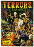 Golden Age (1938-1955):Horror, Terrors of the Jungle #17 (Star, 1952) Condition: VG-....