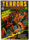 Golden Age (1938-1955):Horror, Terrors of the Jungle #18 (Star, 1952) Condition: FN/VF....