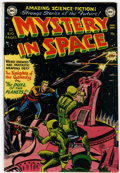 Golden Age (1938-1955):Science Fiction, Mystery in Space #3 (DC, 1951) Condition: FN+ White pages....