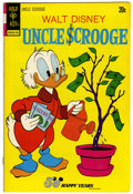 Bronze Age (1970-1979):Cartoon Character, Uncle Scrooge #105 Signed by Carl Barks (Gold Key, 1973) Condition:VF....