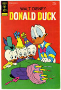 Bronze Age (1970-1979):Cartoon Character, Donald Duck #154 Signed by Carl Barks (Gold Key, 1974) Condition:FN/VF....