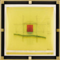 Fine Art - Painting, American:Contemporary   (1950 to present)  , AMERICAN SCHOOL (Late 20th Century). An Open and ShutBathhouse, 1991. Graphite on paper. 23-1/2 x 23-1/2 inches(59.7 x...