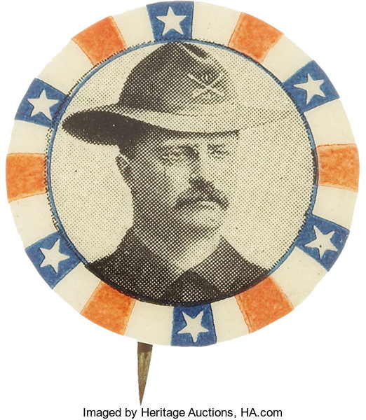 dfd1147e132 Theodore Roosevelt  Scarce and Colorful 7 8