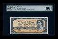 Canadian Currency: , BC-42b $50 1954. ...