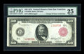 Large Size:Federal Reserve Notes, Fr. 1023 b $50 1914 Red Seal Federal Reserve Note PMG Very Fine 25....