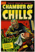 Golden Age (1938-1955):Horror, Chamber of Chills #18 File Copy (Harvey, 1953) Condition: VF-....
