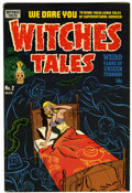 Golden Age (1938-1955):Horror, Witches Tales #2 File Copy (Harvey, 1951) Condition: FN....