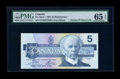 Canadian Currency: , BC-56aA-i $5 1986. ...