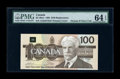 Canadian Currency: , BC-60aA $100 1988. ...