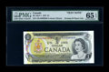 Canadian Currency: , BC-46aT-i $1 1973. ...