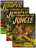 Golden Age (1938-1955):Horror, Terrors of the Jungle Group (Star, 1953-54) Condition: AverageVG/FN.... (Total: 3 Comic Books)