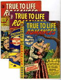 Golden Age (1938-1955):Romance, True-To-Life Romances Group (Star Publications, 1950-53) Condition:Average VG/FN.... (Total: 4 Comic Books)