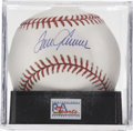 Autographs:Baseballs, Tom Seaver Single Signed Baseball, PSA Mint+ 9.5. Terrific sweetspot application of the Hall of Fame star Tom Seaver's desi...