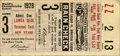 Baseball Collectibles:Tickets, 1928 St. Louis Cardinals World Series Game 3 Ticket Stub. While the'28 Redbirds had a stellar lineup that included the lik...