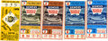 Baseball Collectibles:Tickets, 1968 World Series Ticket Stubs Lot of 5. 1968's World Series was anexciting affair pitting the Cardinals from St. Louis ag...