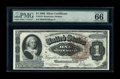 Large Size:Silver Certificates, Fr. 219 $1 1886 Silver Certificate PMG Gem Uncirculated 66 EPQ....