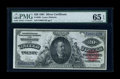 Large Size:Silver Certificates, Fr. 320 $20 1891 Silver Certificate PMG Gem Uncirculated 65 EPQ....