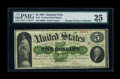 Large Size:Demand Notes, Fr. 3 $5 1861 Demand Note PMG Very Fine 25....