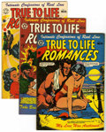 Golden Age (1938-1955):Romance, True-To-Life Romances #14-16 Group (Star Publications, 1952-53)Condition: Average FN/VF.... (Total: 3 Comic Books)