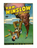 Golden Age (1938-1955):War, Don Winslow of the Navy #32 Cape Cod pedigree (Fawcett, 1946)Condition: FN+....