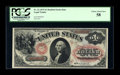 Large Size:Legal Tender Notes, Fr. 22 $1 1875 Legal Tender PCGS Choice About New 58....