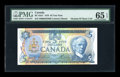 Canadian Currency: , BC-53aT $5 1979. ...