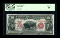 Large Size:Legal Tender Notes, Fr. 115 $10 1901 Legal Tender PCGS About New 50....
