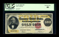 Large Size:Gold Certificates, Fr. 1212 $100 1882 Gold Certificate PCGS Extremely Fine 40....