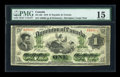 Canadian Currency: , DC-2bi $1 1870. ...