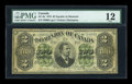 Canadian Currency: , DC-9a $2 1878. ...