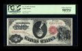 Error Notes:Large Size Inverts, Fr. 37 $1 1917 Legal Tender PCGS Choice About New 58PPQ....