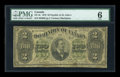 Canadian Currency: , DC-9c $2 1878. ...