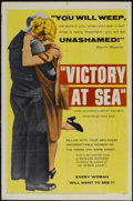 "Movie Posters:Documentary, Victory at Sea (United Artists, 1954). One Sheet (27"" X 41""). Documentary...."