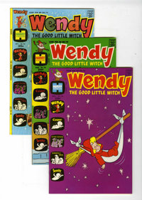 Wendy, the Good Little Witch File Copy Group (Harvey, 1971-74) Condition: Average NM-.... (Total: 10 Comic Books)