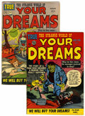 Golden Age (1938-1955):Horror, Strange World of Your Dreams #1 and 4 Group (Prize, 1952-53)....(Total: 2 Comic Books)