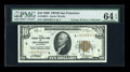 Small Size:Federal Reserve Bank Notes, Fr. 1860-L $10 1929 Federal Reserve Bank Note. PMG Choice Uncirculated 64 EPQ.. ...
