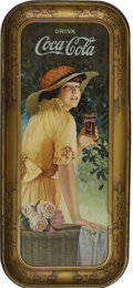 Advertising:Trays, Coca-Cola Serving Tray: Elaine 1916...